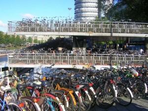 Parking still a problem, even when it's bikes