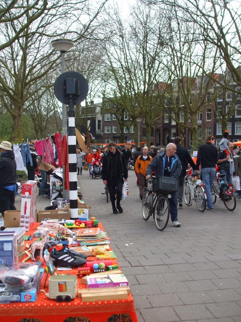 Free market in Amsterdam