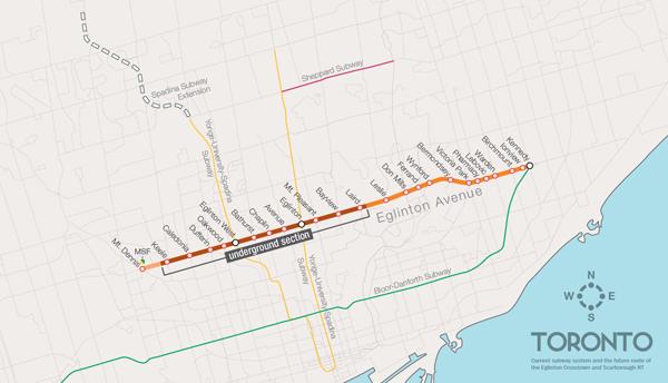 Green bonds will help fund Eglinton LRT
