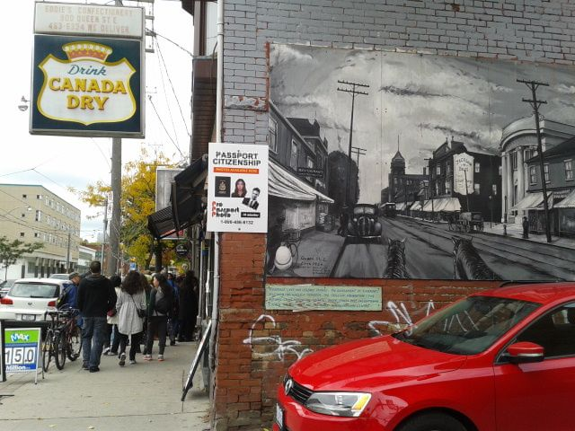 Slices of Canadiana--Canada Dry, immigration/citizenship, and the streetcar