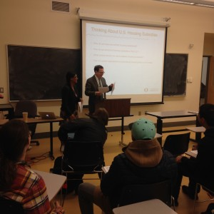 President Michael Schill's guest lecture