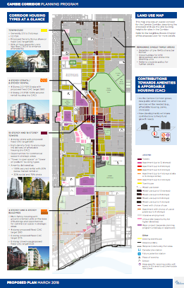 Corridor planning with equity considerations