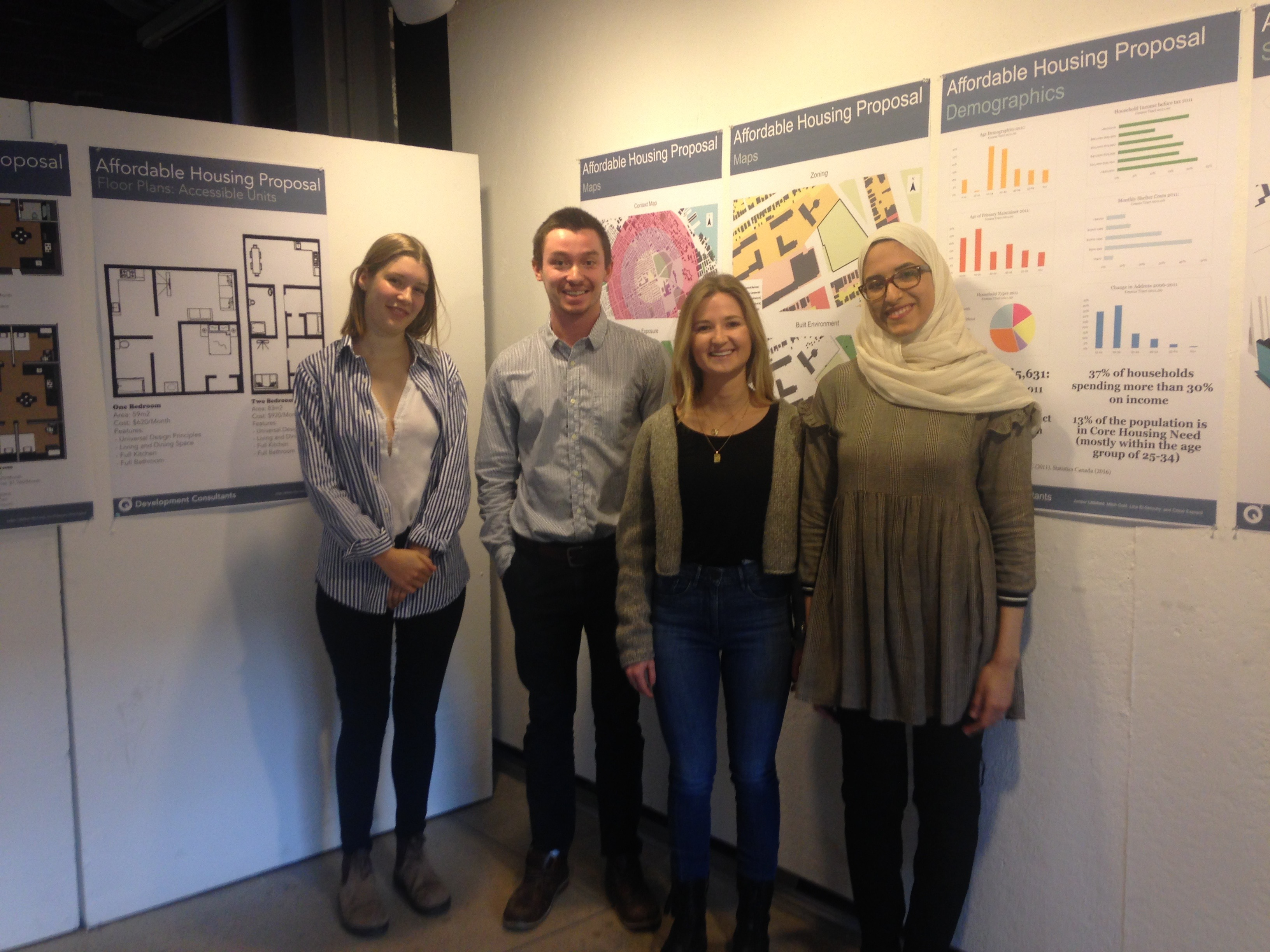 Congratulations to my students, winners of the CMHC National Student Competition for Affordable Rental Housing!