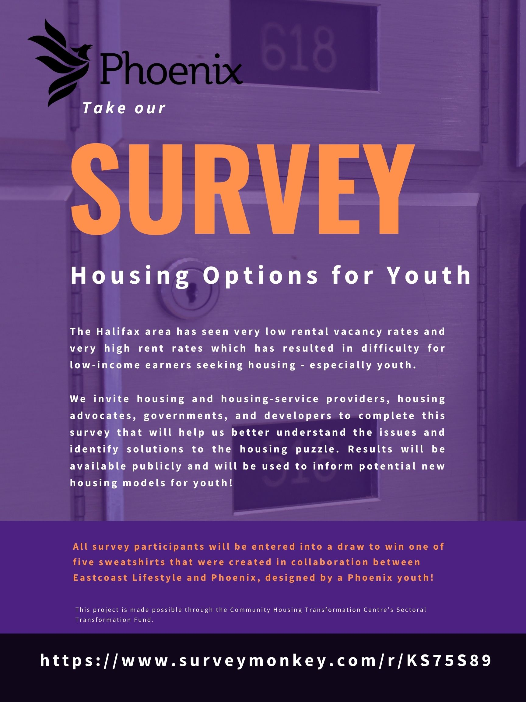 Please help us circulate our survey on housing options for youth!